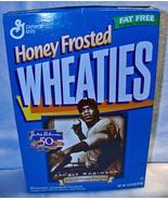 Jackie Robinson 50th Anniversary 1996 Wheaties Box  - $7.50