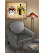 Double Coat of Arms Canvas Wrap - $119.99