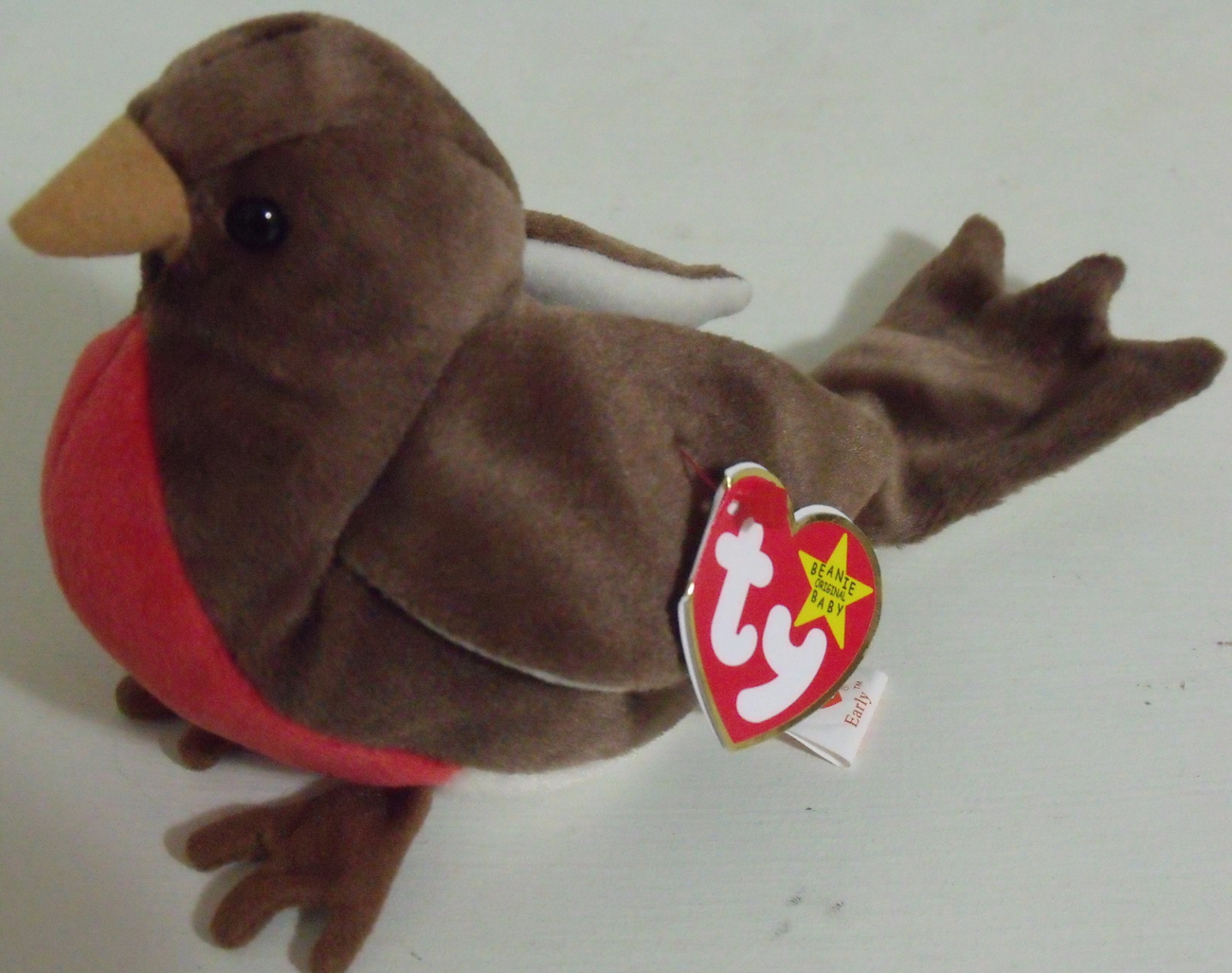 Ty Beanie Babies NWT Early the Robin Retired