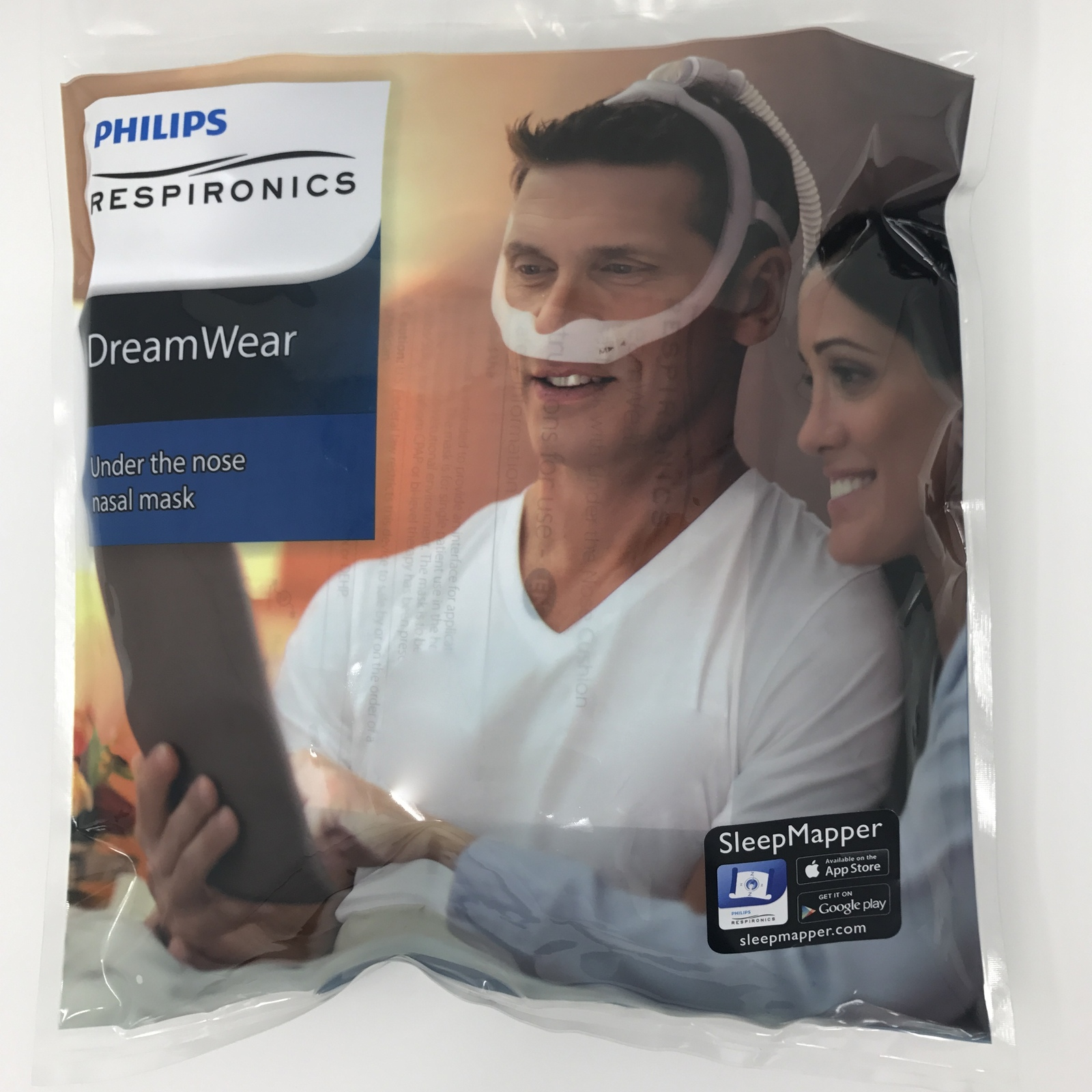 Philips Respironics Dreamwear Nasal Mask System 1116700 Retail Package Complete