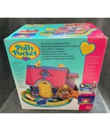 Vintage 1995 Polly Pocket Lucy Locket & Polly's Dream Cottage House NIB ... - $692.99