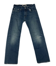 Levis 505 Regular Fit Straight Leg Blue Jeans Men's, Boys Size 18 Reg 29X29 - $19.79