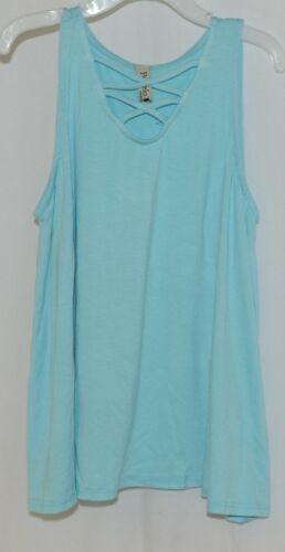 Pomelo Sky Blue Tunic Top Sleeveless Summer Top Girls Size Large
