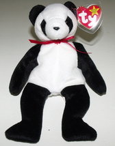Ty Beanie Babies NWT Fortune the Panda Bear Retired - $9.95