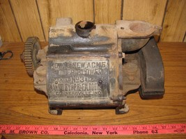 VINTAGE ROOTS NEW ACME NO.3 ROTARY LOBE BLOWER PAT. 1885 - $600.00