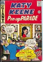 Katy Keene Pin-Up Parade #6 1959-Bill Woggon-fashions-pin-ups-paper doll... - $98.36