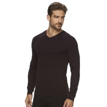 Marc Anthony Big & Tall Men's Slim-Fit Solid Dark Wine V-Neck Sweater Ne... - $39.00