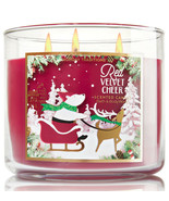 Bath & Body Works Red Velvet Cheer Three Wick 14.5 Ounces Scented Candle - $22.75