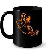 Funny Scary ghosts Halloween 2018 Long Sleeve Ceramic Mugs - $13.99+