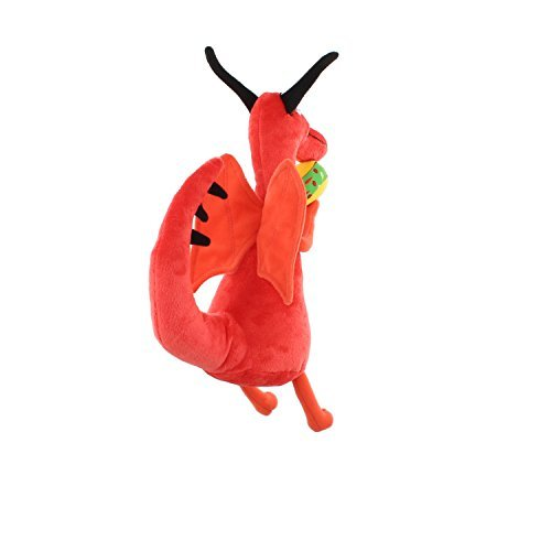 MerryMakers Dragons Love Tacos Plush Doll, 10-Inch