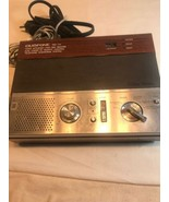 Vintage Radio Shack Duofone TAD-114 Cassette Telephone Answering System ... - $37.53