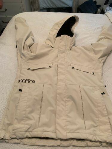 BONFIRE Mens Size XL XLarge Ski Snowboarding Jacket Full Zip Polyester Lining image 2