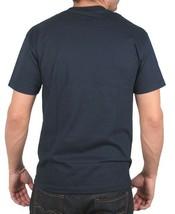 Deadline Azul Marino para Hombre Ol' Inglés Antiguo D Letras Camiseta Nwt image 2