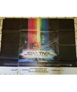 "Rare STAR TREK The Motion Picture 1979 Original 59 x 45"" Movie Poster - ... - $939.51"