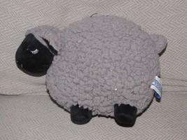 "Bath & Body Works gray black Lamb Lambie 8"" Sherpa Plush Toy softest sweetest - $39.59"