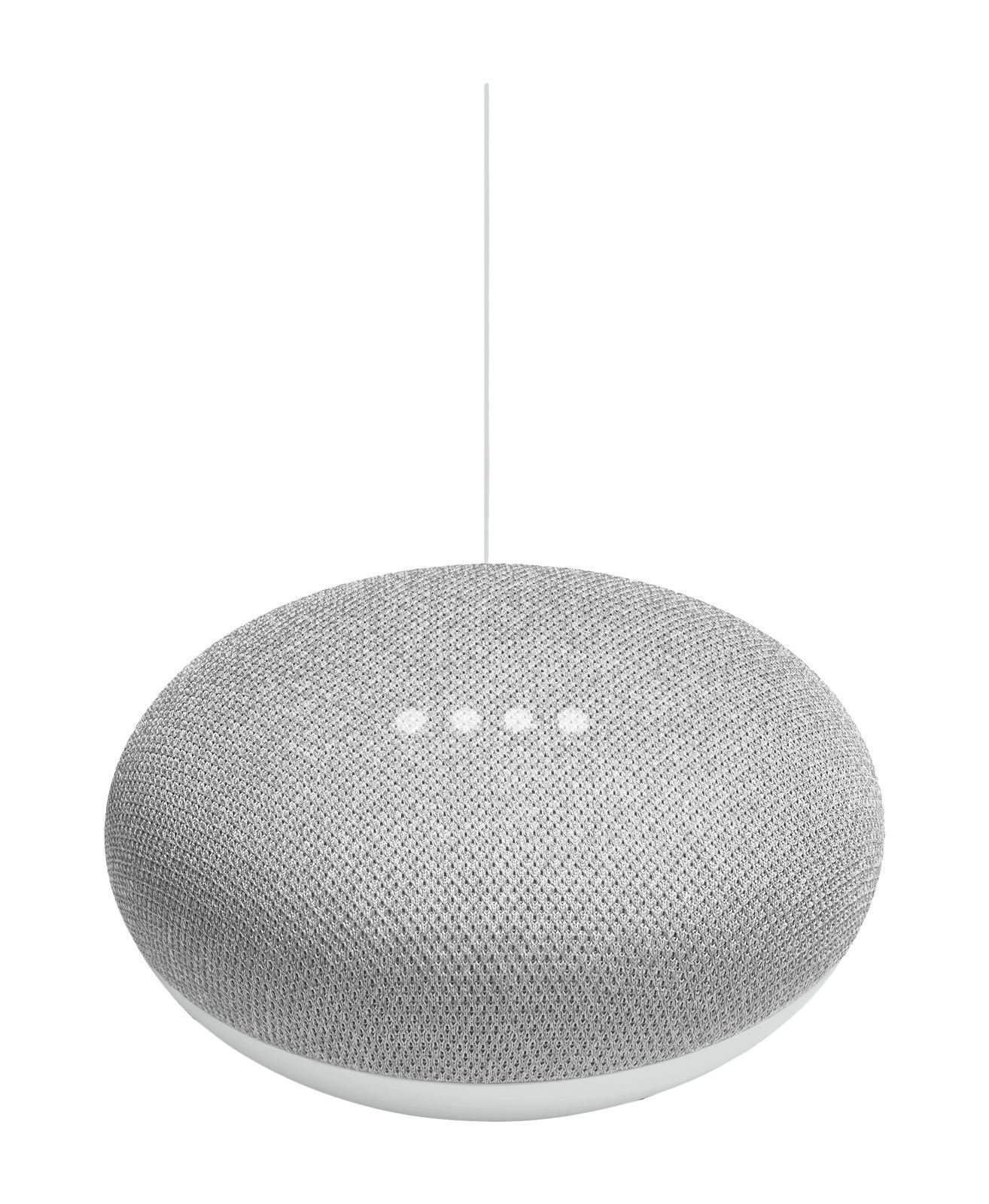 Google Home Mini Voice Activated Smart Assistant Chalk Gray - Worldwide Delivery