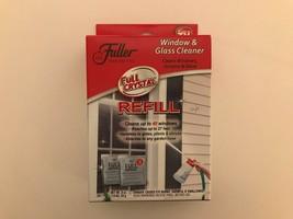 Fuller Brush Full Crystal Window & Glass Cleaner 2 Refills Packet Powder... - $14.48