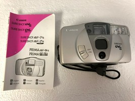 Canon Sure Shot Owl PF Date 35mm Point & Shoot Film Camera - $14.39