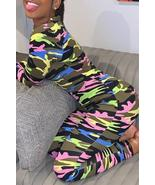 Trendy Camouflage Printed One-piece Jumpsuit - $28.58