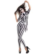 Party King Graveyard Ghost Ghoulish Sexy Women Halloween Costume Cosplay... - $64.34