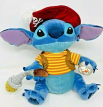 "Disney Store Exclusive Lilo and Stitch Plush Pirate Hat Compass 11"" - $22.99"