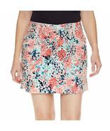 St. John's Bay Floral Cotton Blend Skorts Floral Size 8, 10, 12, 14, 16 New - $21.99