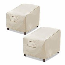 Honest Patio Chair Covers, Lounge Deep Seat Cover, Heavy Duty and Waterp... - $31.04