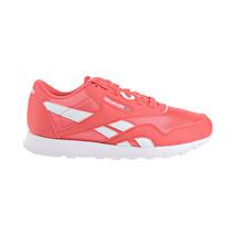 Reebok Classic Nylon Big Kids Shoes Bright Rose-White CN7626 - $44.95