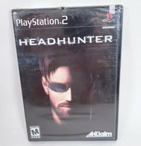 Headhunter PS2 Game Playstation 2 New Sealed Acclaim Small Scrape Hole P... - $18.69
