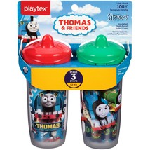 Playtex Sipsters Stage 3 Thomas and Friends Insulated Sippy Cup, 9 oz, 2 pk - $25.24