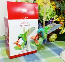Hallmark Winged Wonder Hummingbird ornament 2014 Limited Quantity ornament - $29.45