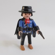 Playmobil Bounty Hunter 3798 Figure Two Pistols Hat Cape 1994 - $14.84