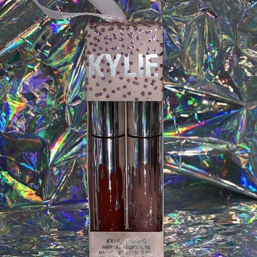 NEW IN BOX Kylie Jenner Mini Liquid Lipsticks Charm & Mary Jo K Matte And Velvet