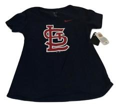 New NWT St. Louis Cardinals Nike Women's Logo Scoop Neck Medium Shirt - $21.73