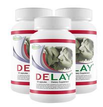 3 Bottles of Delay Pills - Last Longer in Bed - Made in New Zealand - $89.00