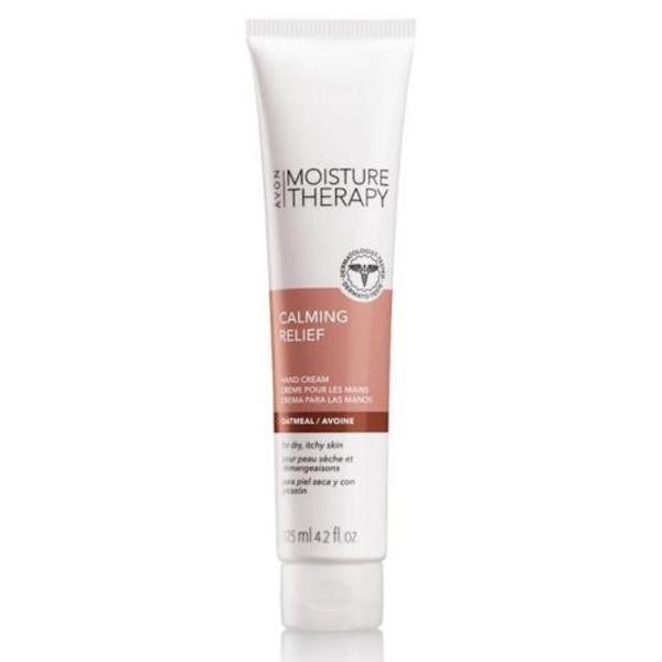 Avon Moisture Therapy Calming Relief Hand Cream 4.2 Fl Oz New!