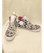 Missoni High Top Tennis Shoes Size 8 Converse Chuck Taylor Black White C... - $39.60
