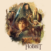 THE HOBBIT T-shirt Lord of the Rings 100% cotton graphic printed tee HOB2001 image 1