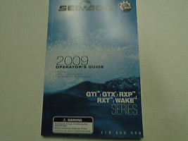 2009 See Doo Gti GTX Rxp Wake Operator Führung Owners Owner Manuell Fabr... - $54.44