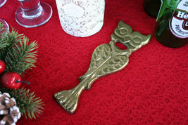 POTTERY BARN DRAMATIC OWL BOTTLE OPENER WHO WHO WOULDN'T WANT THIS? -NIB - $14.95