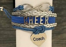 Cheer Coach Charm Bracelet- Coach Cheerleading Bracelet- Cheer Jewelry - $12.50
