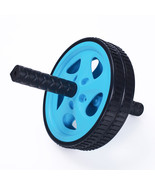 Adeco Exercise & Fitness Ab Wheel Roller Abdominal Exercise Equipment, Blue - $13.29