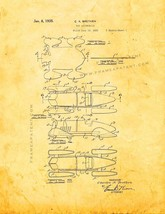 Toy Automobile Patent Print - Golden Look - $7.95+
