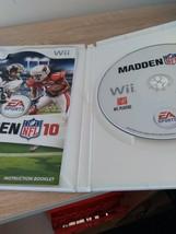 Nintendo Wii Madden NFL 10 image 2