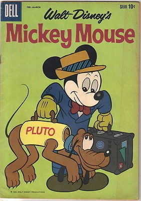 Walt Disney's Mickey Mouse Comic Book #64, Dell Comics 1959 FINE-