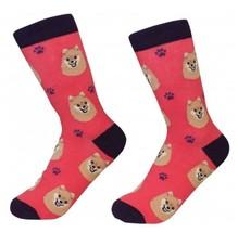 Pomeranian Socks Unisex Dog Cotton/Poly One size fits most - $11.99