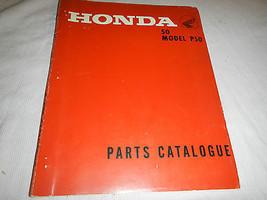 1967-1968 67 68 Honda P50 P 50 Little Honda Parts Catalog Book Manual Diagrams - $95.56