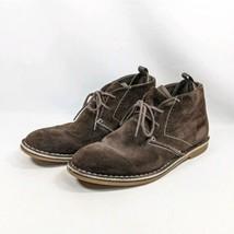 Steve Madden Syrio Chukka Dessert Boots Men's Sz 8.5M Brown Suede Leather  - $34.99