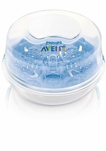 Philips Avent- Bottle Sterilizer Steam For Travel Microwave Compact New - $215.54