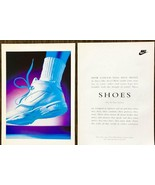 1993 Nike Air-Elite Stratus Sneakers 2pg PRINT AD How Could You Not Move - $11.89